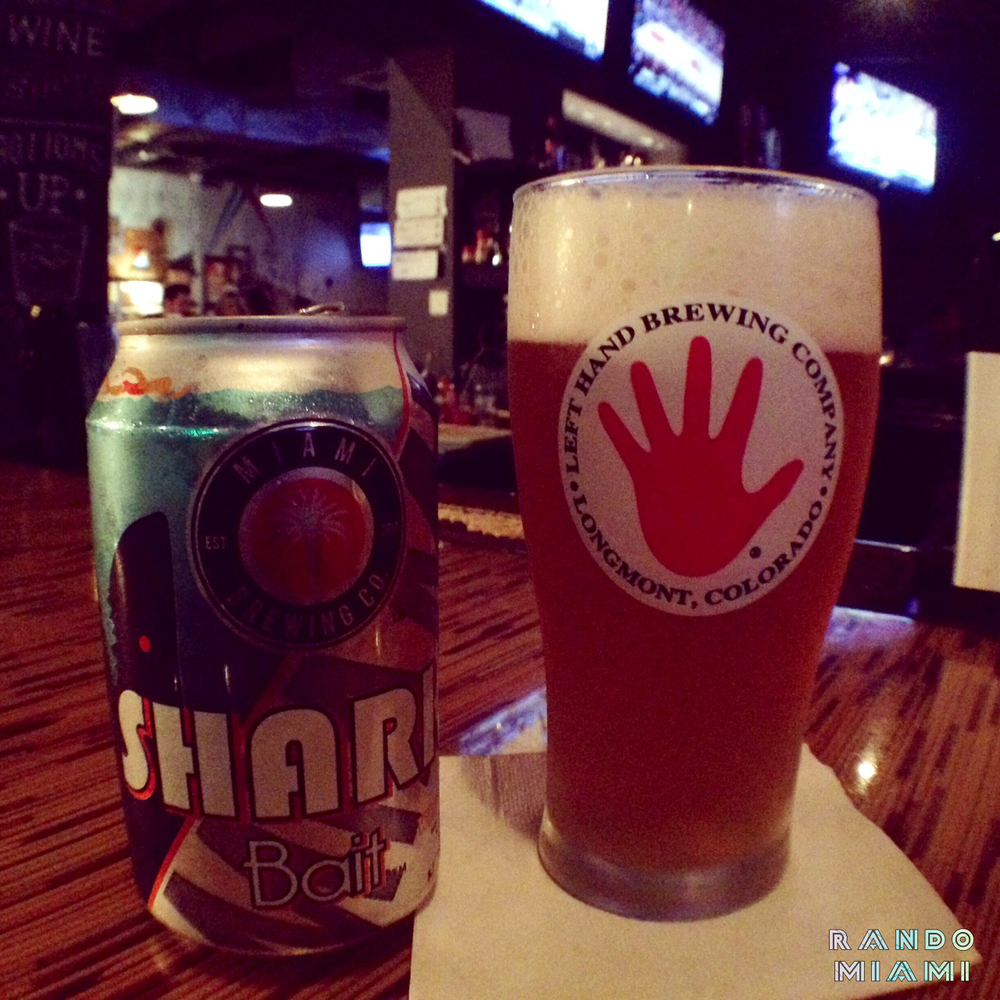 Miami Brewing Company Shark Bait Mango Wheat Ale