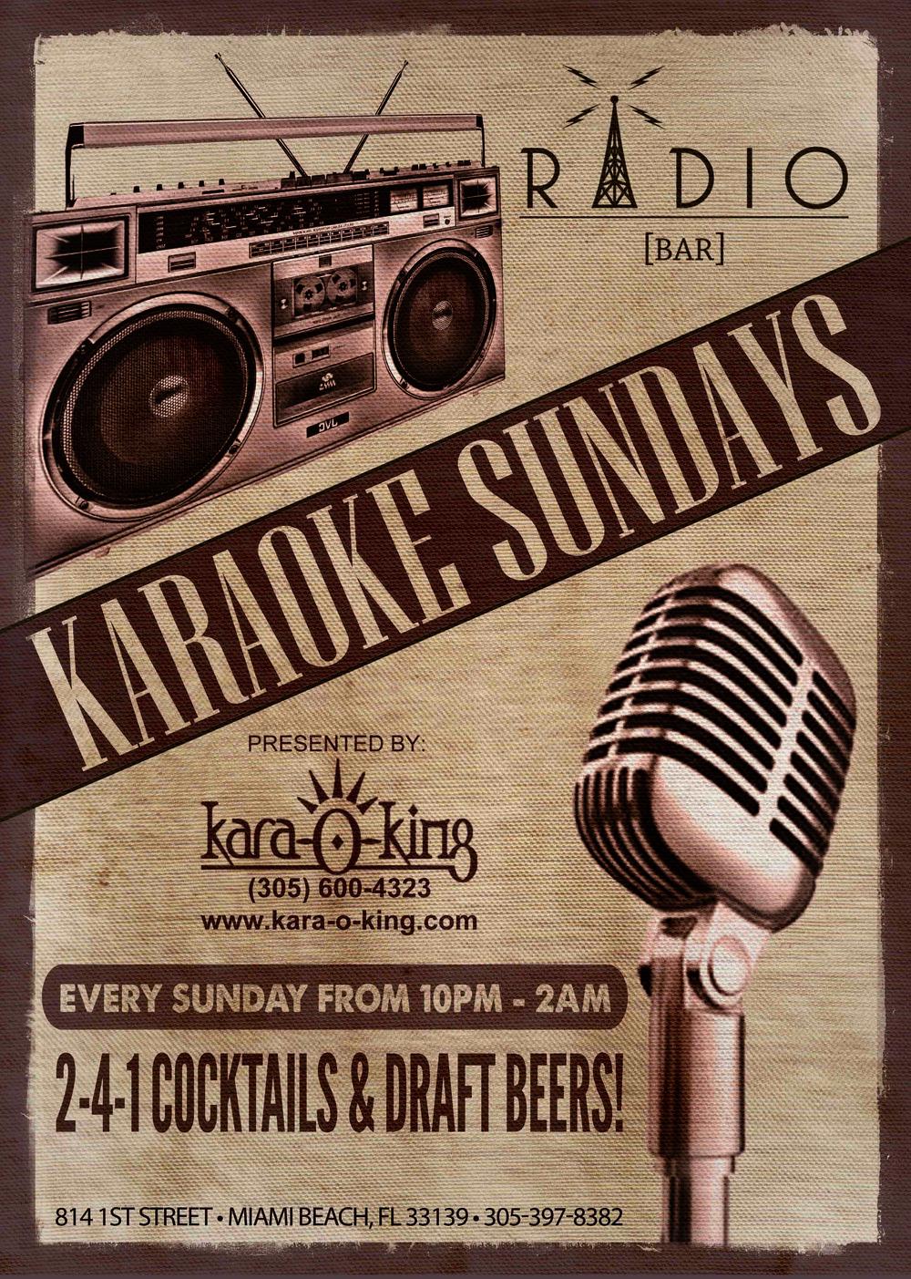 Radio_Bar_Karaoke_Sundays