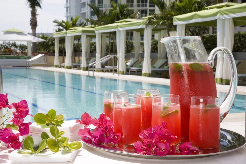 Conrad Miami Spa Conrad Miami Pool