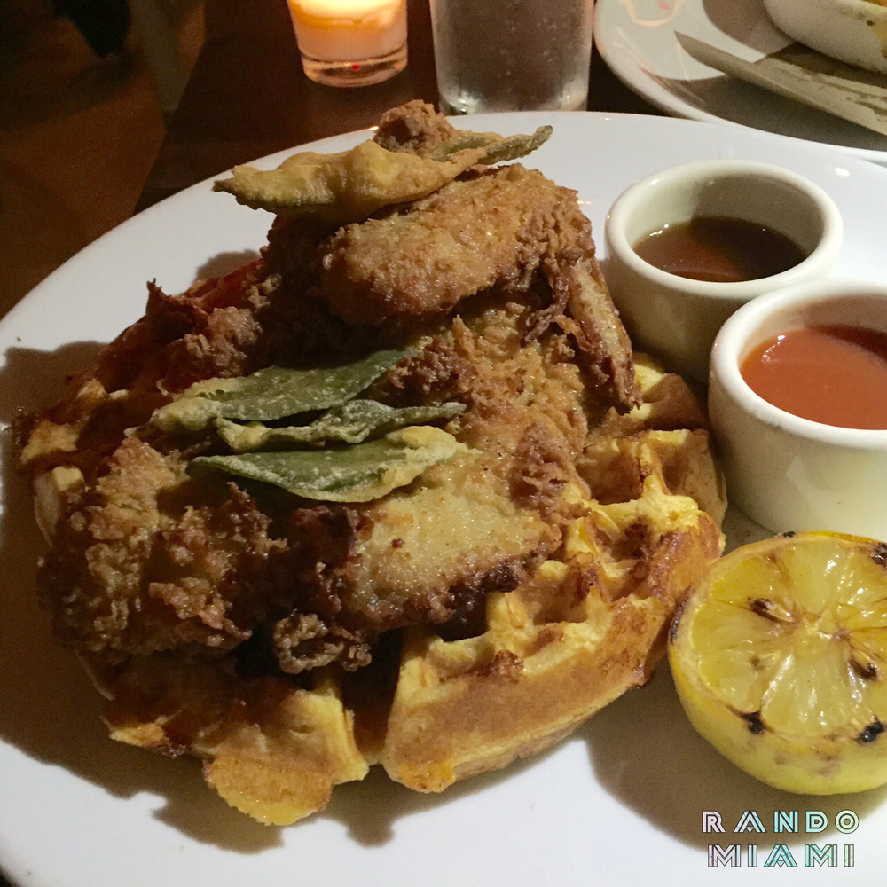 Cafeteria Chicken & Waffles