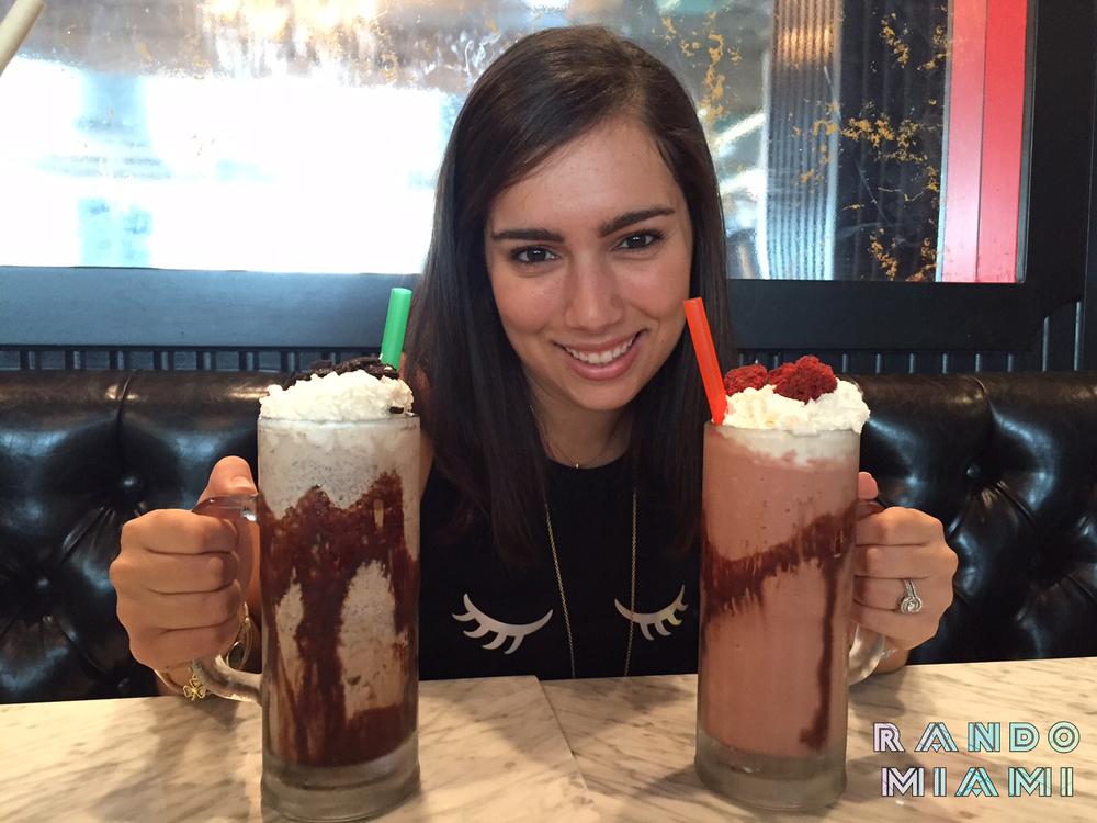 Cookie Jar & Red Velvet Milkshakes