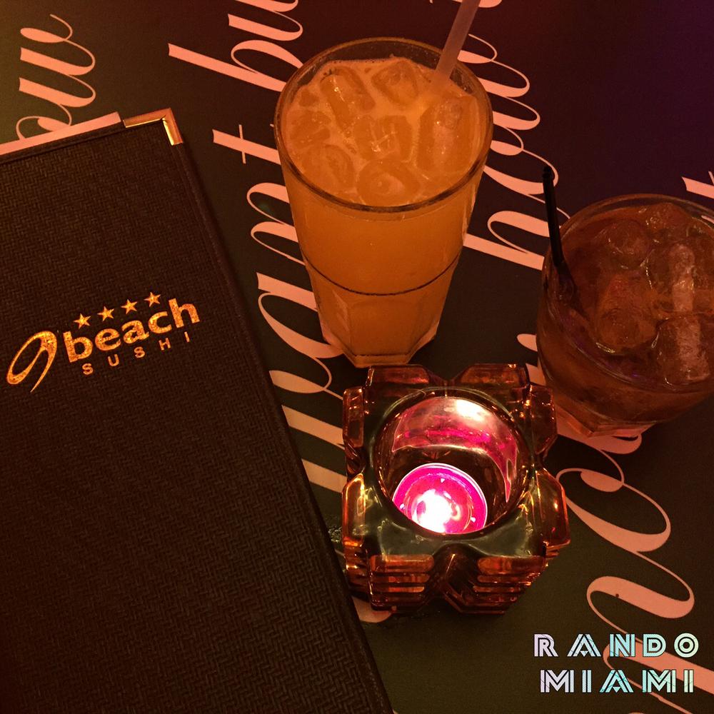 Mango Whisky Sour & Cocoa Nib Old Fashioned