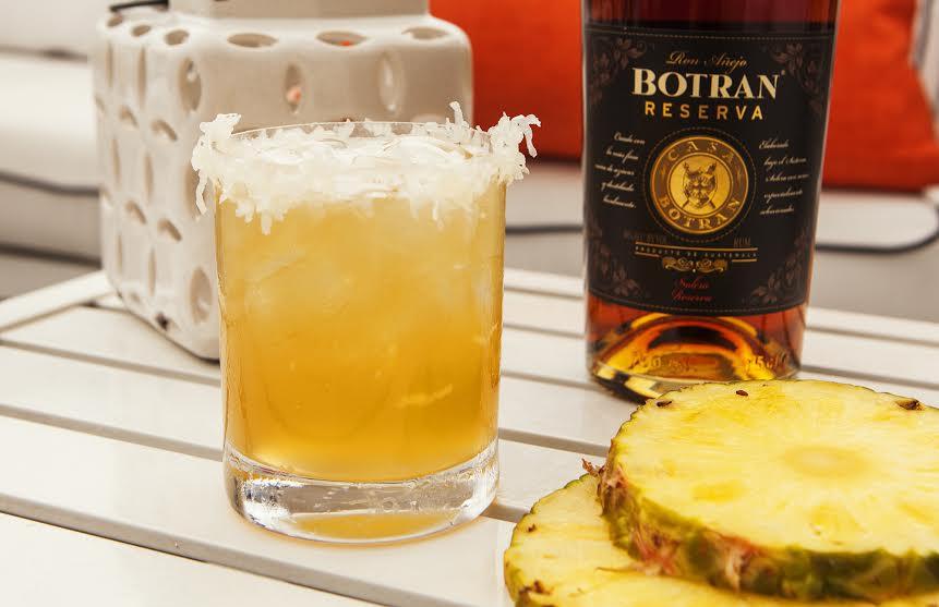 Botran Rum's Skinny Colada