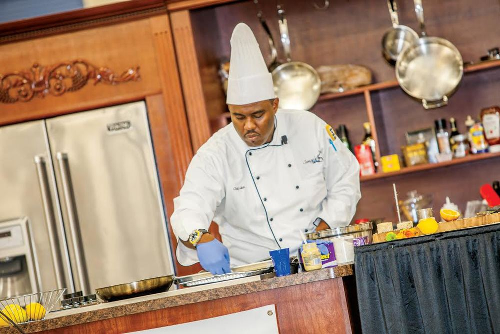 Chef James Lubin, Chef/Owner, Semaj One Way Catering Photo Credit | Home Design and Remodeling Show