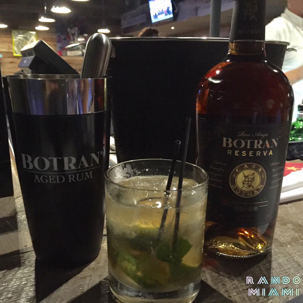 Botran Rum mojito