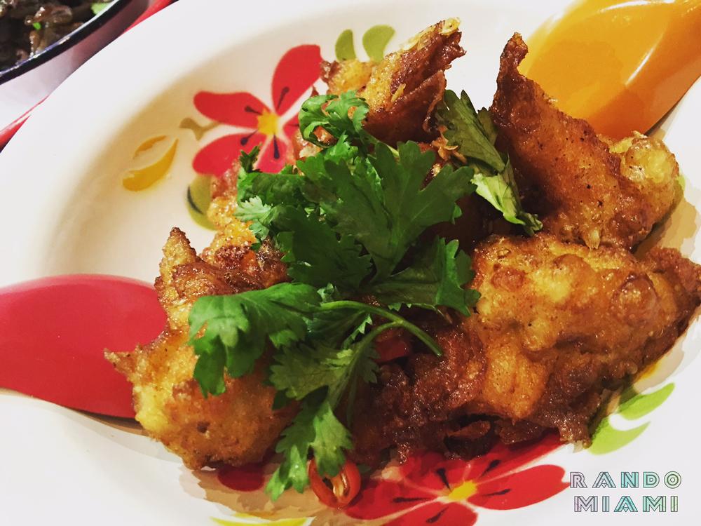 Fried Chiken Dumplings