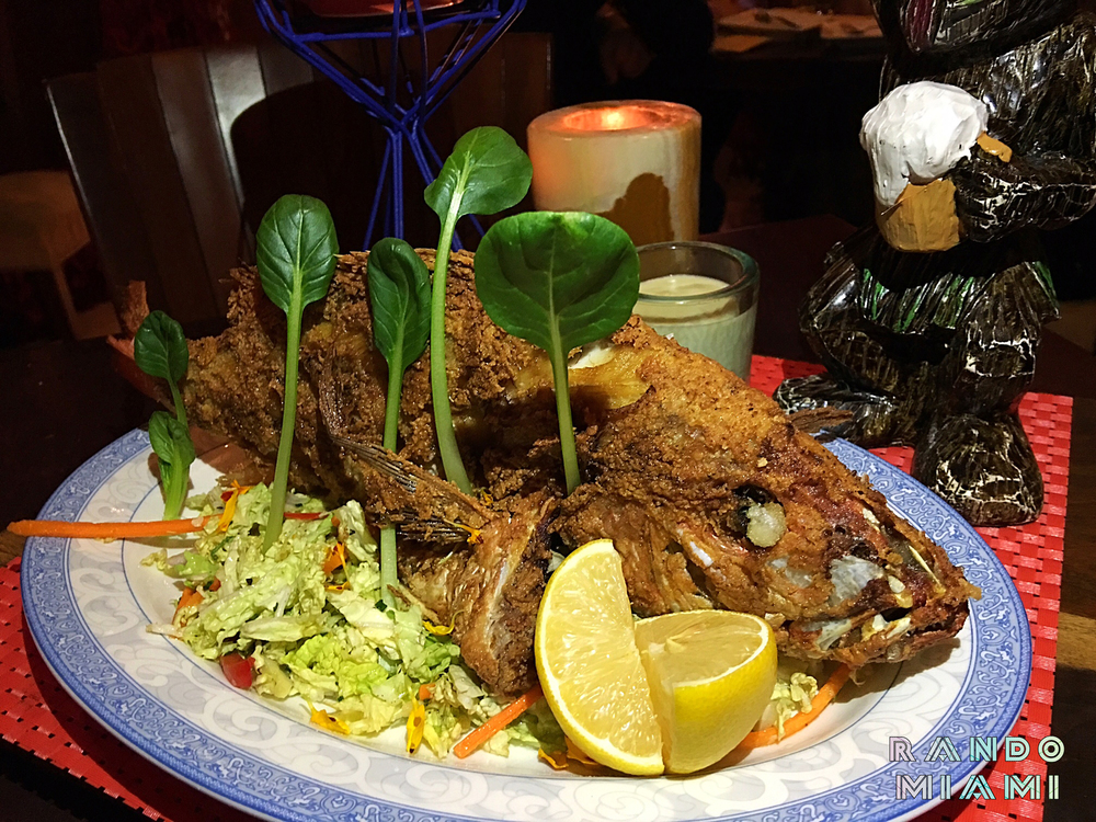 Polynesian Fish Fry