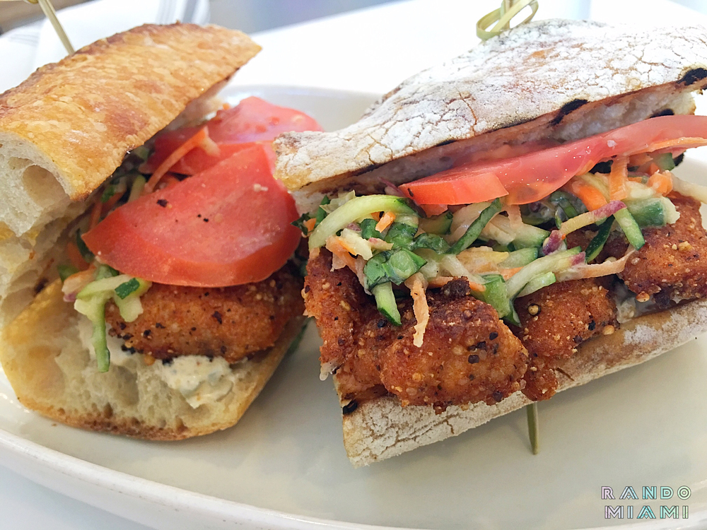 Fish Po'Boy Sandwich