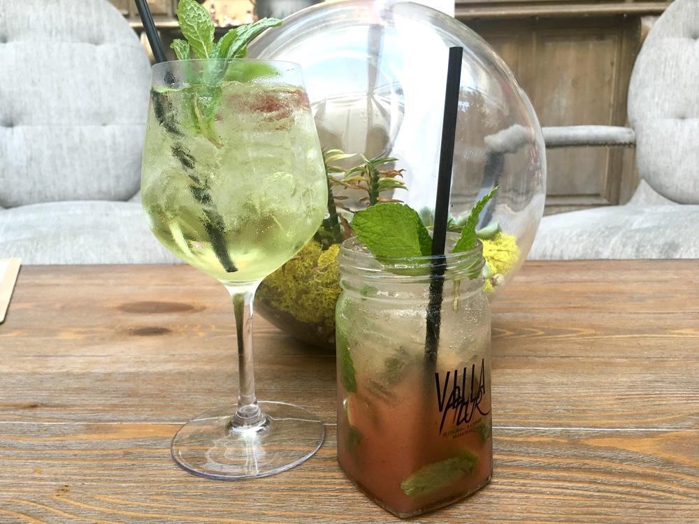 Apple Spritz and Guava Mojito Cocktails