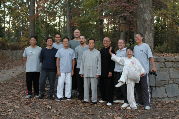 Greenville Chen Tai Chi Practitioners with Grandmaster Chen Zhenglei, 2013
