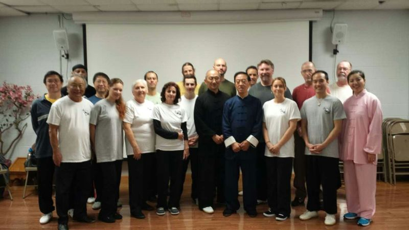 Greenville chen tai chi group with grandmaster chen zhenglei,, 2015