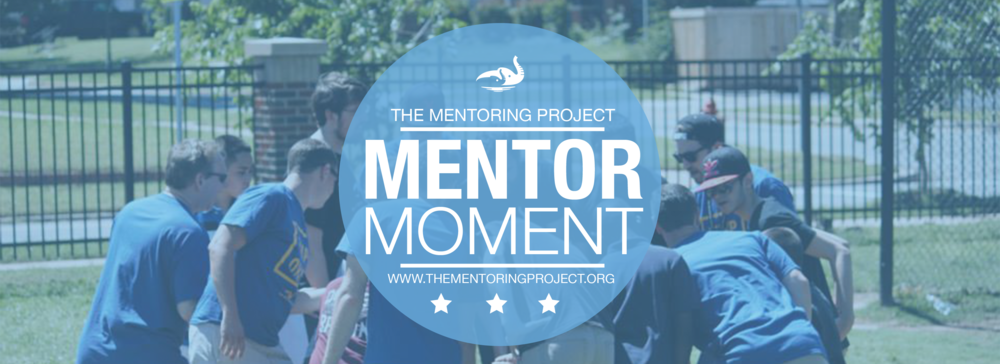 Mentor Moment is a monthly program offered by The Mentoring Project for mentors and mentees served by The Mentoring Project and affiliated mentor link organizations. #MentorMoment