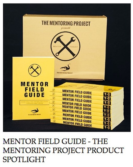 "NEW BLOG POST • ""This is our second class of mentors and second year using The Mentor Field Guide. Reading through it again…has made it all the more valuable, relevant, and useful. Love it!"" Mentor Program Director  Read more over at THEMENTORINGPROJECT.org  #TheMentoringProject #MentorToolkit #TMProjectMentorToolkit #MentorFieldGuide #TMProjectMentorFieldGuide #TMP #TMProject #mentor #EveryChildDeservesAMentor"