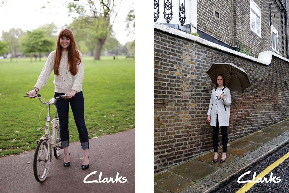 Clarks: Real women real shoes campaign