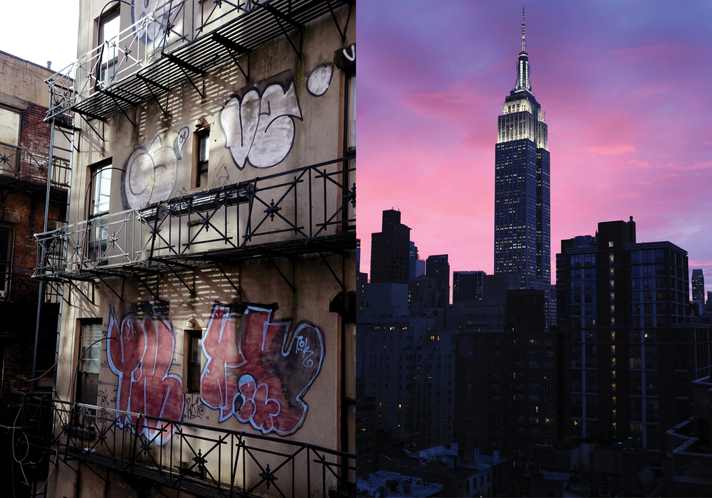 Meatpacking district + Empire state