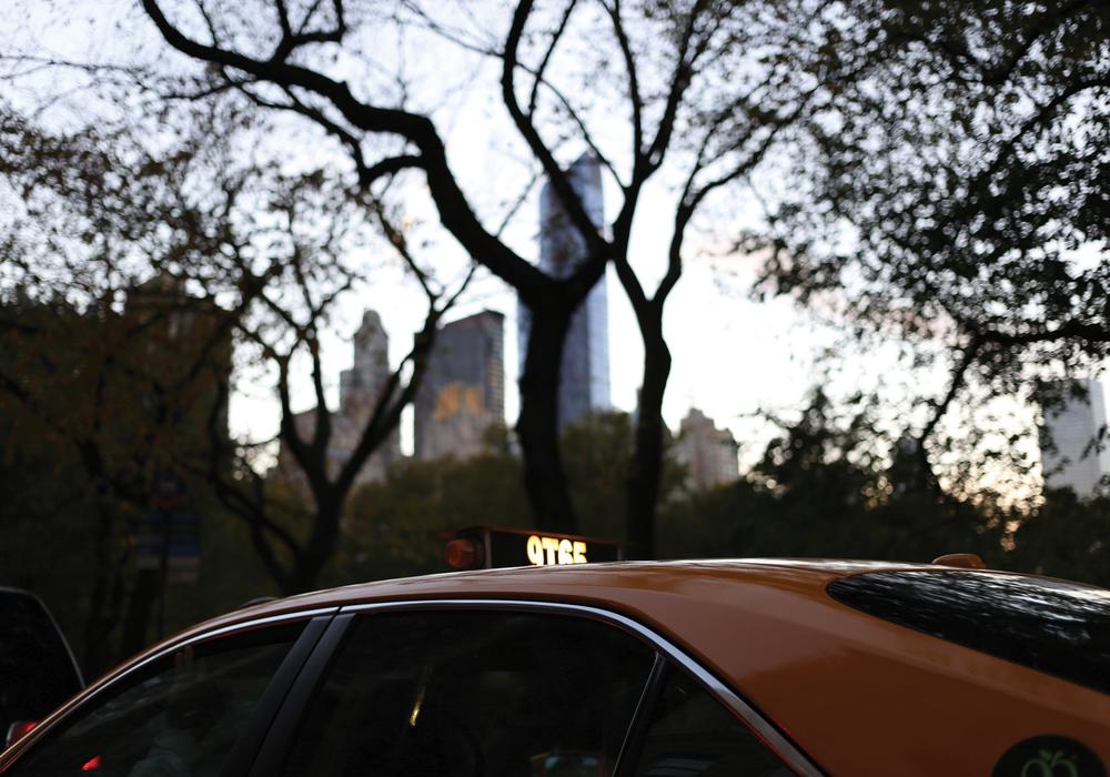 Central Park taxi