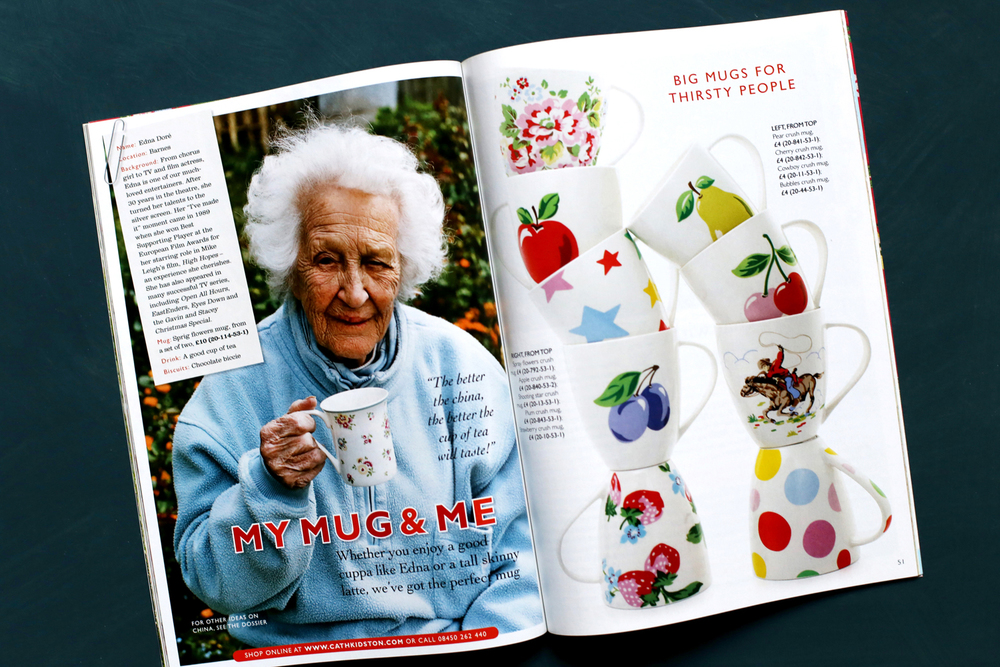 I created a new magazine for Cathto promote her product
