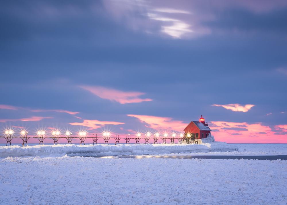 Grand Haven Pier Series #2