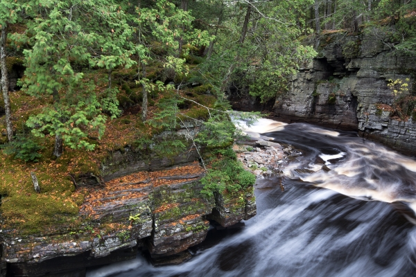 Sturgeon River at Canyon Falls