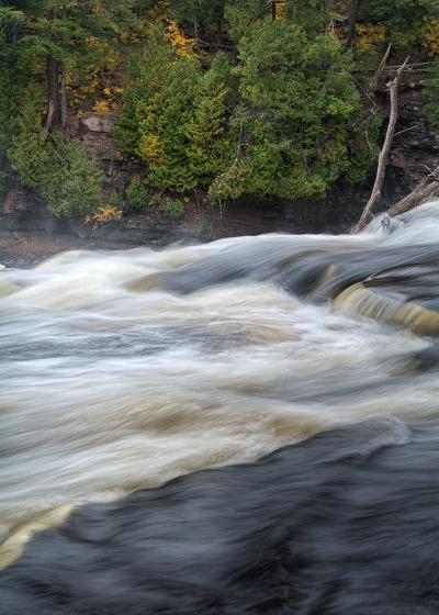 Above Manabhezo Falls