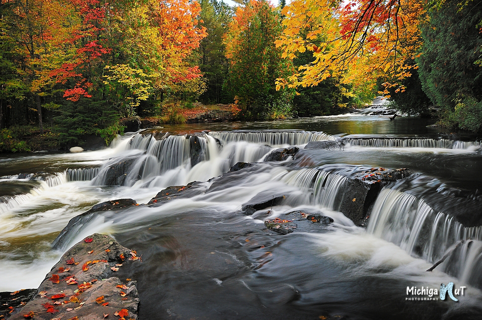 © John McCormick |  Facebook  |  Website   The Michigan Nut, John McCormick, always seems to capture fall colors at their best! This amazing image is from Bond Falls and John has more beauties to share from Fall on his website! Read more about John in his '  Photographer Profile  '.
