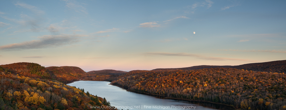 Lake of The Clouds at Porcupine Mountains State Park