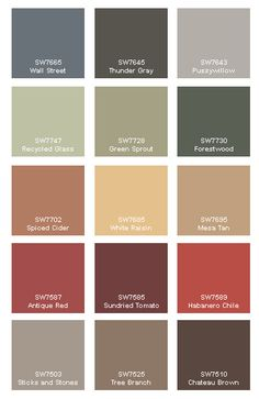 Paint Color Swatch Example