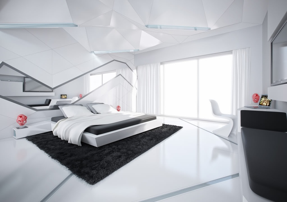 Affordable-Interior-Design-Miami-Modern-Penthouse-Design-White-Bedroom-Design