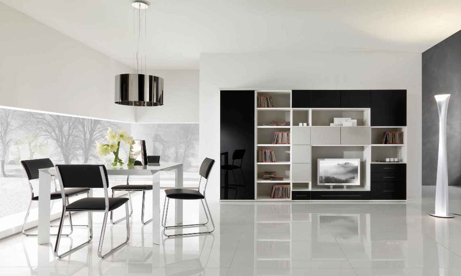 Modern Home Decor Black And White Jpg