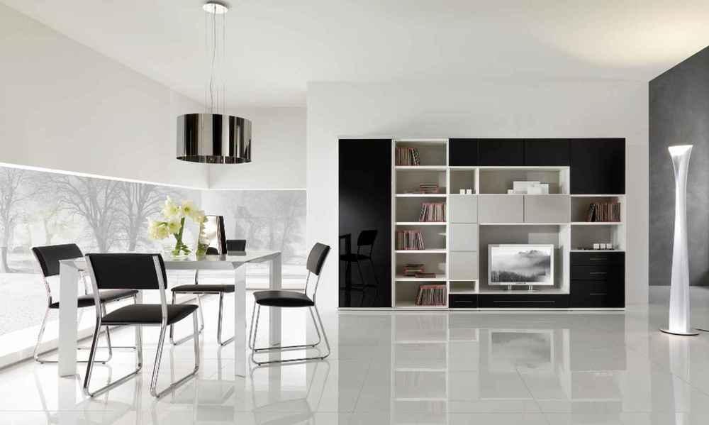 Modern Home Decor Black And White