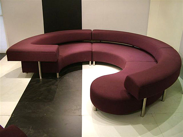 Oversized, Shapely Colored Furniture
