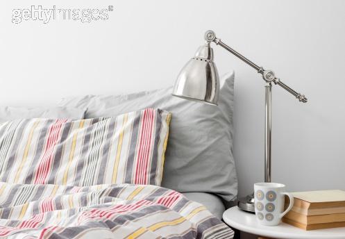 Modern End Table Lamp