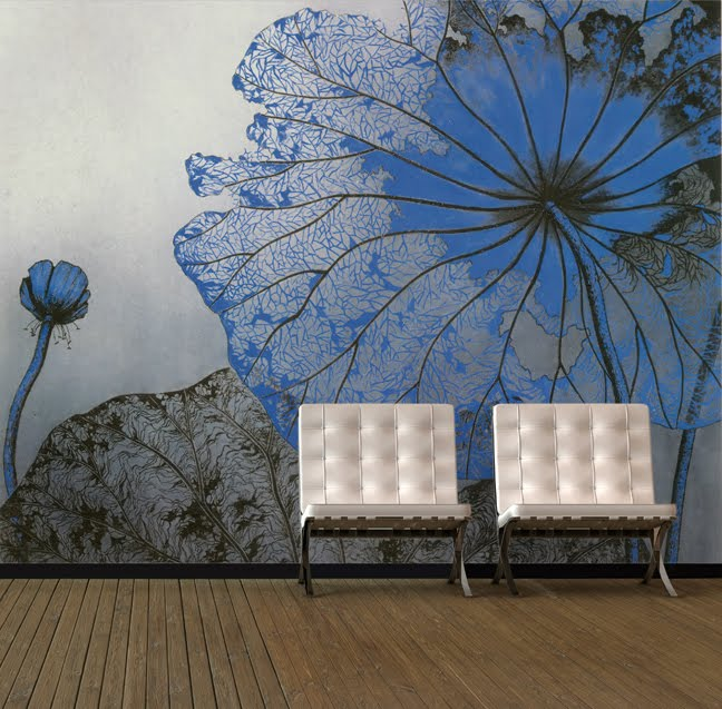 Big Flower Custom Wallpaper Murals
