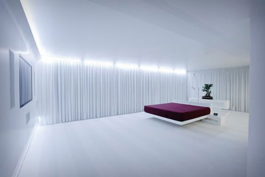 led mood lighting bedroom