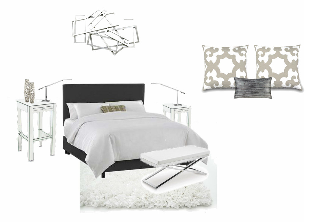 Bed Configuration (minus accent pillow and bedframe)