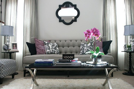 Ever wonder how to style your interior with a glamorous look?