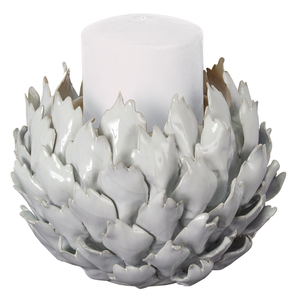 Blossom Ceramic Candlestick    $53 - Need 2