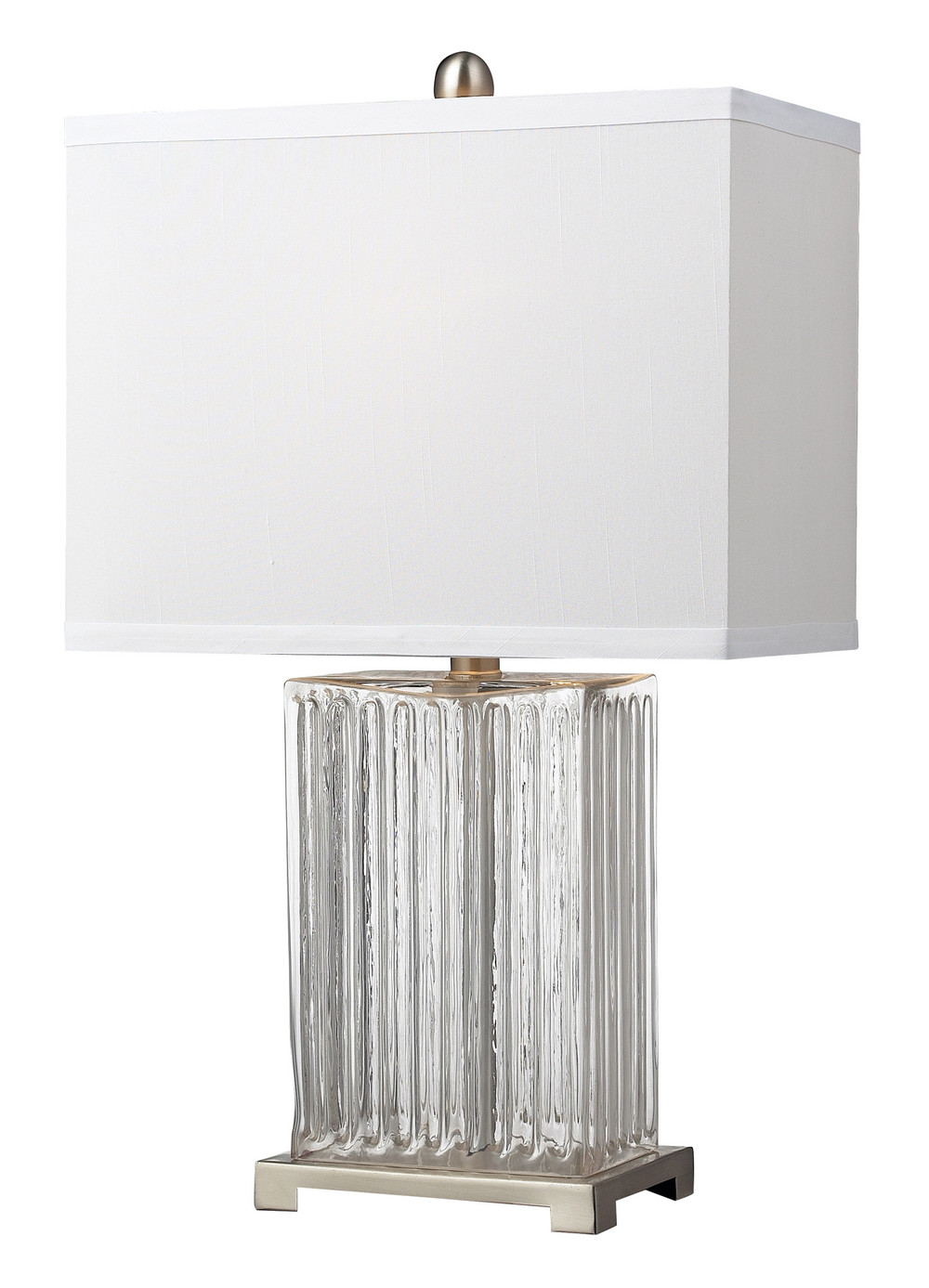 Elk Lighting Overexposed 24'' H Table Lamp with Rectangle Shade  $118 / Need 2