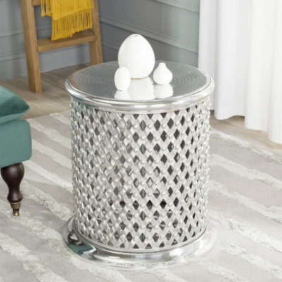 Metal Lace Table Stool