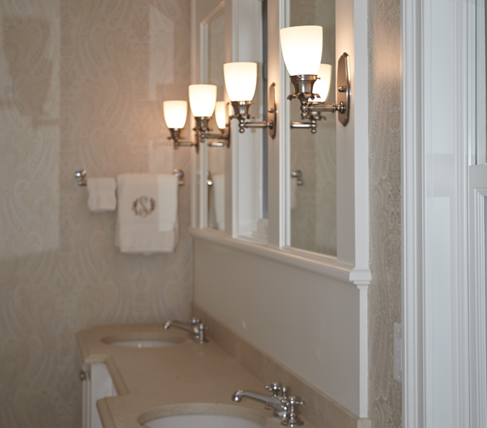 Lighting affordable interior design miami affordable for Traditional bathroom wall lights