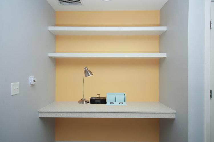 interior design miami office. Interior-Design-Miami-Home-Office-Orange-Wall-Fun- Interior Design Miami Office