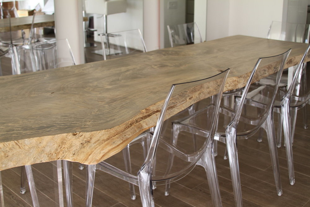 Floating Natural Edge Table Created By Natural Edge Table Co.