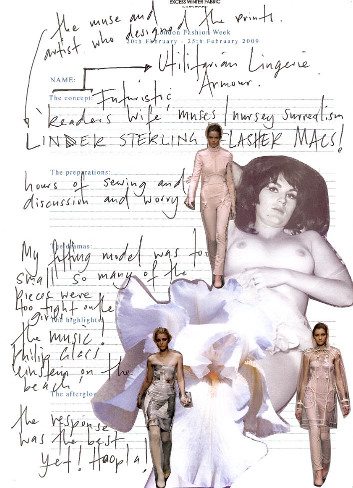 RICHARD NICOLLLondon Fashion Week Diary