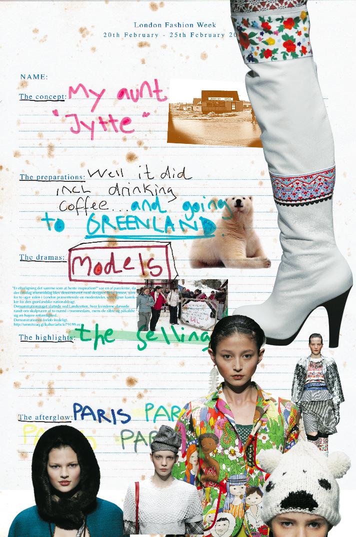 PETER JENSEN London Fashion Week Diary
