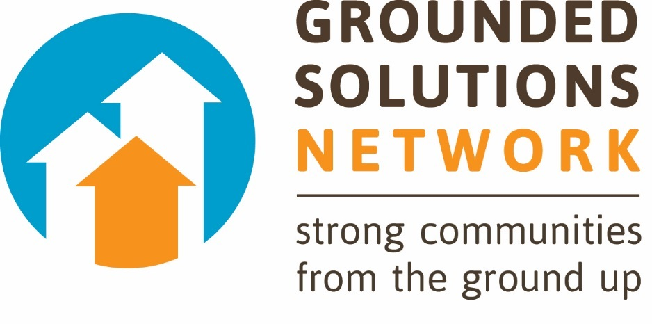 We love Grounded Solutions Network's simple yet compelling new logo and tagline.