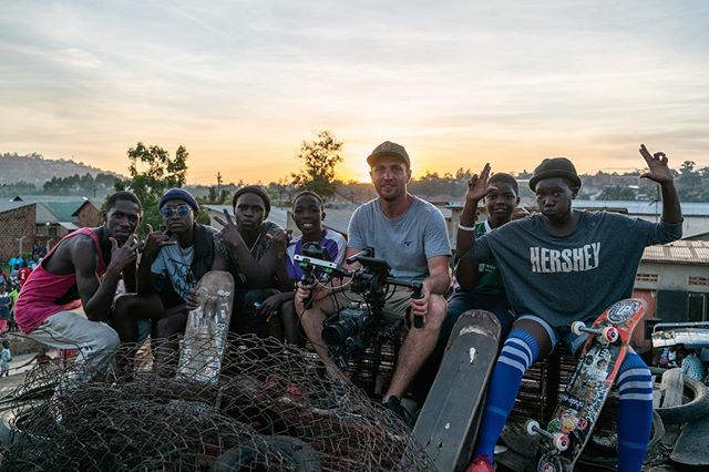 Sharing the love for all things skateboarding and filmmaking❤️ #ugandaskateboardunion #titusdittmann #africa #filmmaking #skateboarding #shotonred #a7riii @skateaid 📸 @mattfarman