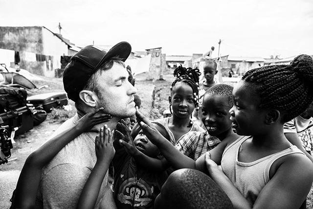 They're just checking to see if I'm real.  I'm real.  #tia #uganda #filmphotography #blackandwhite #sonya7rii #travelphotography 📸 @mattfarman