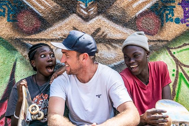 The power of Skateboarding.  #culture #skateboarding #skateboardinggirl #filmmaking #africa #travelphotography @ugandaskateboardunion @skateaid