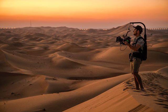 On Location.  #filmmaking #desert #shotonred #zeiss #work 📷 @owentootill