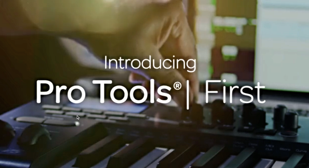 Pro Tools | First... It's FREE!